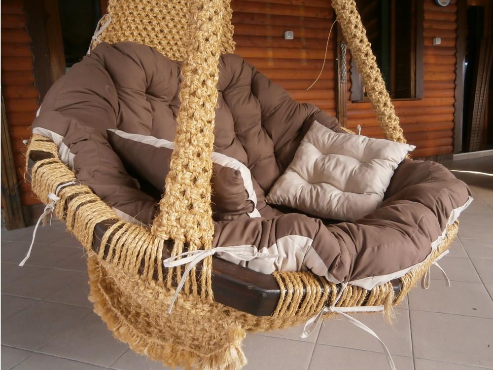 ПЛЕТЕНО ВИСЯЩО КРЕСЛО: COCO NODE THREE - Висящи кресла