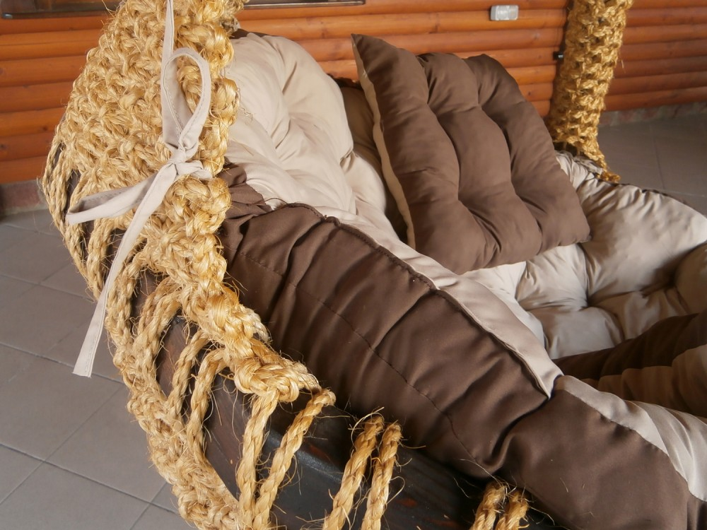 ПЛЕТЕНО ВИСЯЩО КРЕСЛО: COCO NODE ONE - Висящи кресла