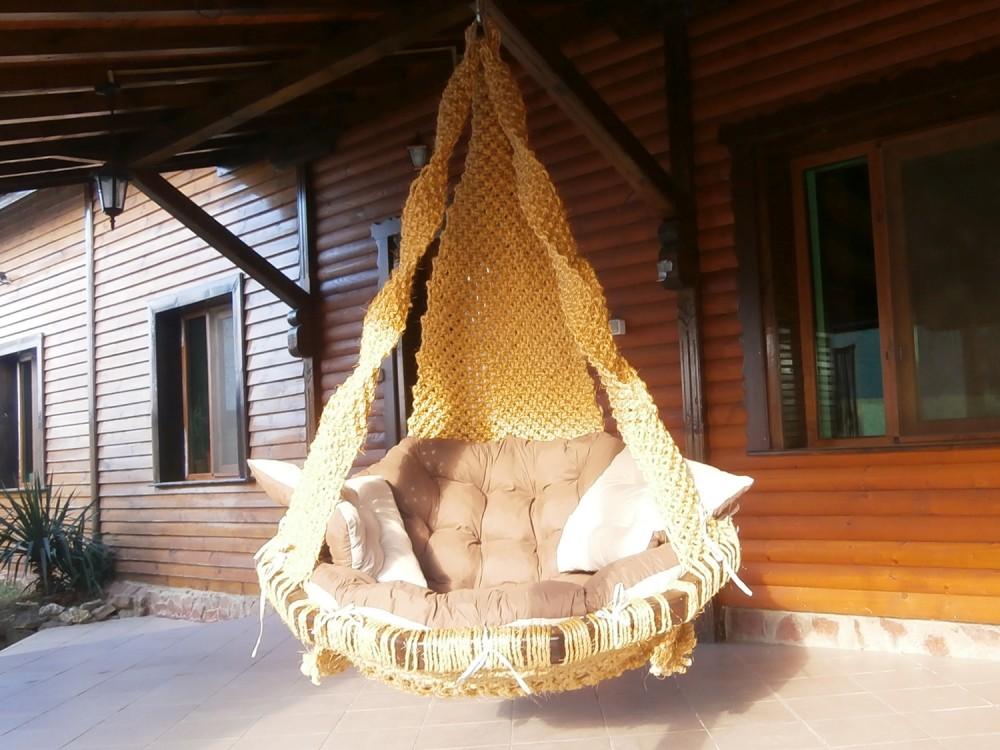 ПЛЕТЕНО ВИСЯЩО КРЕСЛО: COCO NODE TWO - Висящи кресла