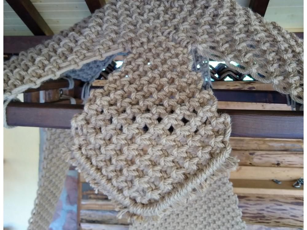 ПЛЕТЕНО ВИСЯЩО КАНАПЕ: WEED TWO - Висящи кресла
