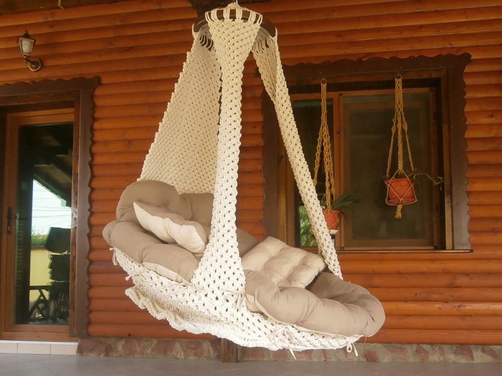 ПЛЕТЕНО ВИСЯЩО КРЕСЛО: COTTO ROYAL - Висящи кресла